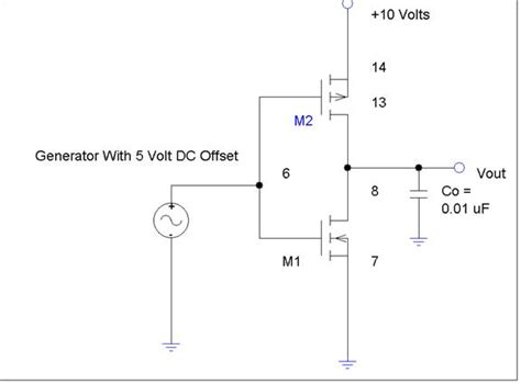 inverter output capacitor figure 5 7 cmos inverter with capacitiveload