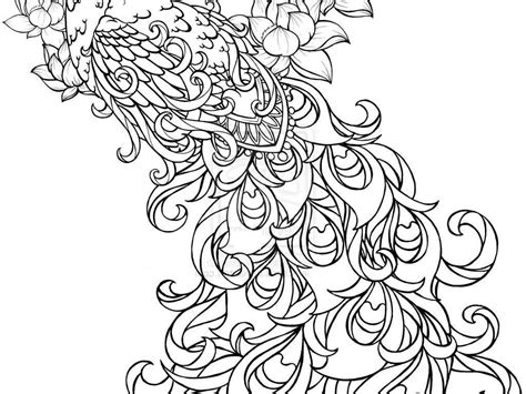 coloring pages for adults peacock adult coloring pages peacock coloring home