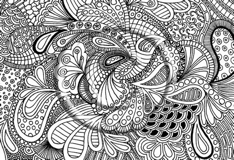 zendoodle coloring page free coloring pages of zendoodle