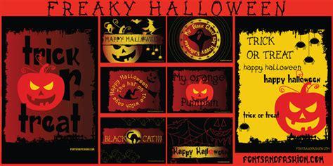 dafont halloween freaky halloween font dafont com