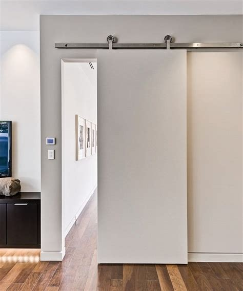 Interior Barn Door Track System by Interior Door Interior Barn Door Track System