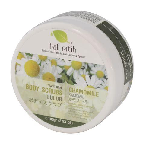 Bali Ratih Scrub Lulur Bali bali ratih scrubs chamomile 100g gogobli