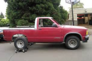 1994 Chevrolet S 10 1994 Chevy S 10 Blazer With Top Removed Photo 9