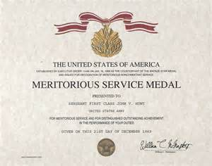 meritorious service medal citation template meritorious service medal certificate