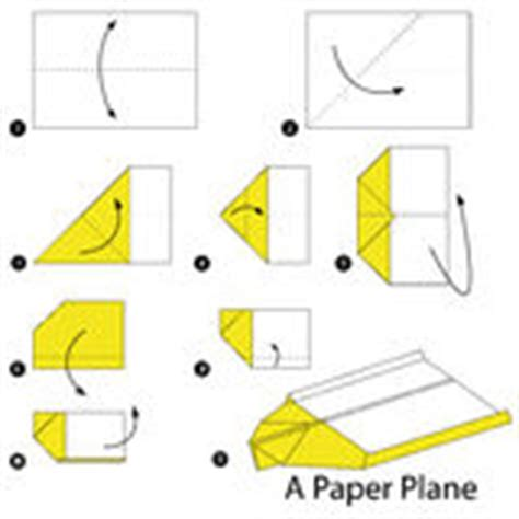 How To Make A Paper Plane Step By Step - step by step how to make origami a paper