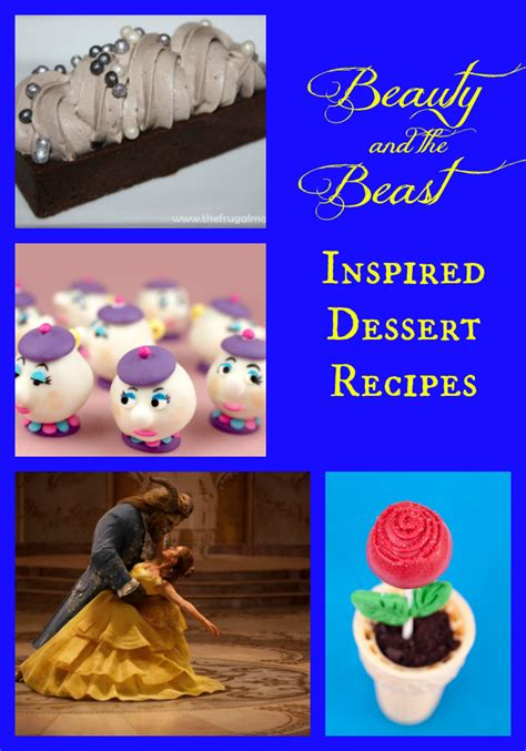 beauty and the beast inspired recipes crafts with 3 beauty and the beast inspired desserts 25th