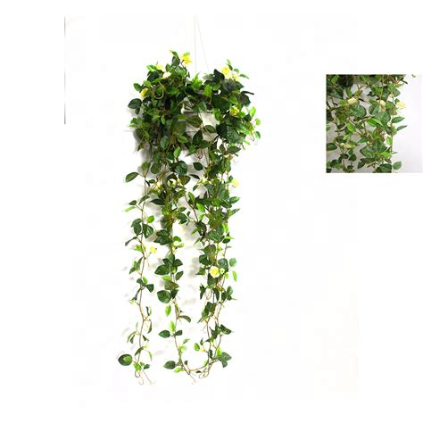 Hanging Vines For Planters by Saxifraga Vine 70cm In Hanging Basket Artificial