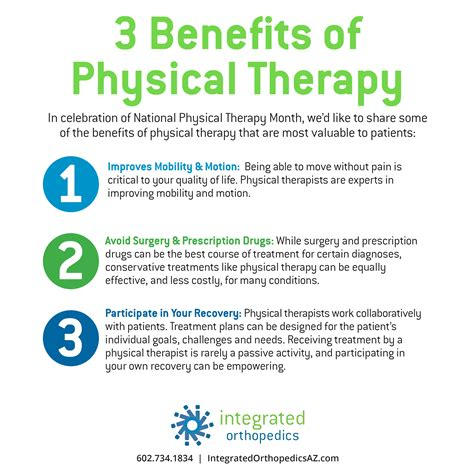 Advantages Of Integrated Mba by 3 Benefits Of Physical Therapy Integrated Orthopedics
