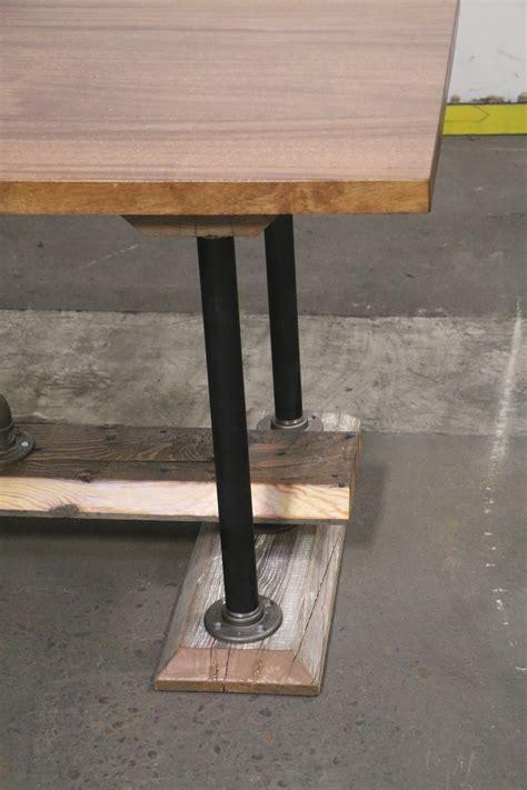 industrial farmhouse dining table harvest farmhouse mahogany dining table the industrial