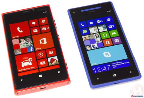 Nokia Lumia Windowsphone nokia lumia 920 versus htc 8x windows phone 8 showdown hardware info united states