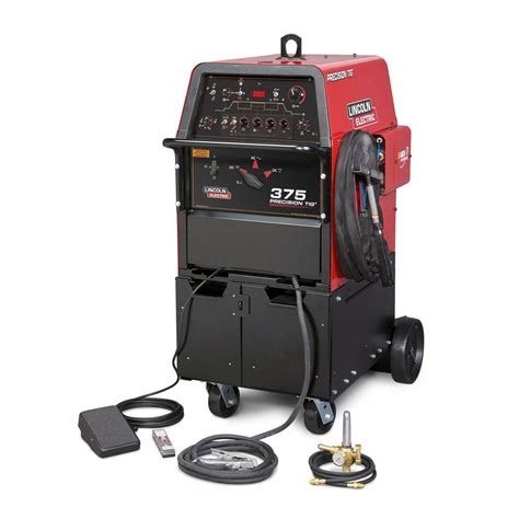 lincoln tig welders lincoln electric precision tig 375 ready pak tig welder