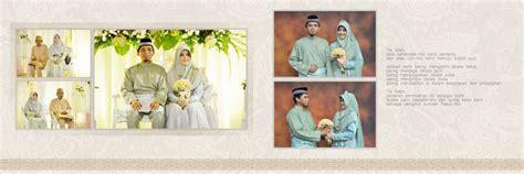 contoh desain foto wedding contoh desain cover dan isi album kolase wedding cetak