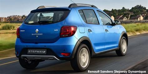new renault sandero stepway 66kw turbo dynamique up to r