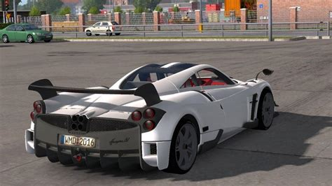modded sports cars pagani huayra bc sports car 187 download game mods ets 2
