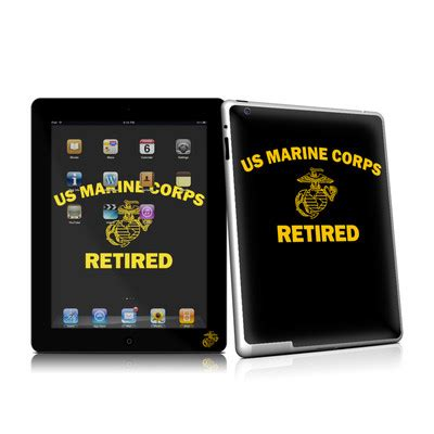 Sticker Macbook Pro And Air Usmc Marine Corps Rina Shop usmc retired by us marine corps decalgirl