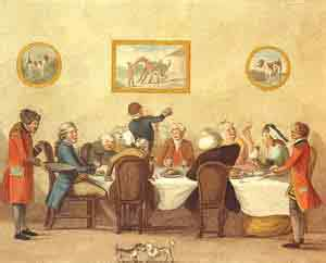 Dining Room Etiquette Era Manners And Civilities The Colonial Williamsburg