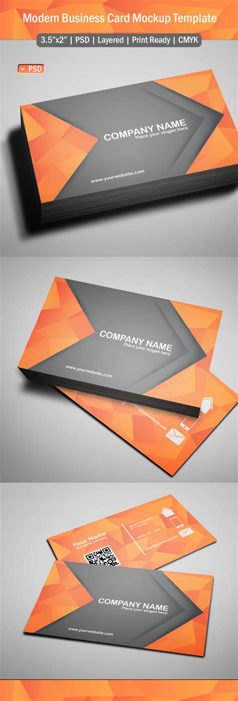 template card design free 10 modern business card psd template free images free