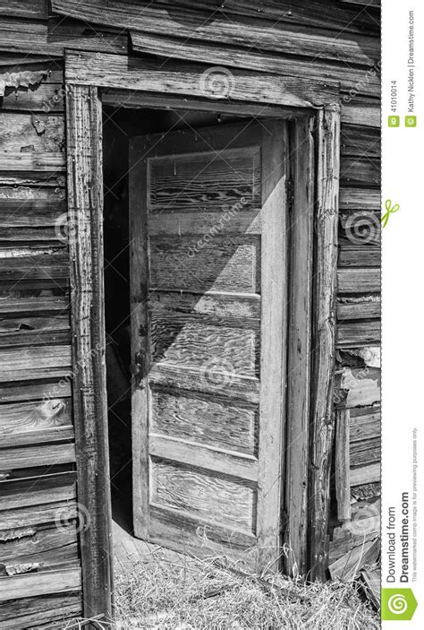 open exterior door on house stock photo image 41010014