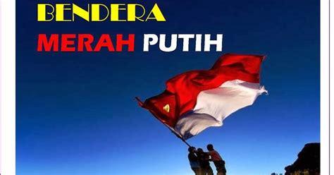 Kain Salur Merah Putih 2mm Lebar 150cm sejarah pramuka bendera negara sang merah putih pengaturan penggunaan