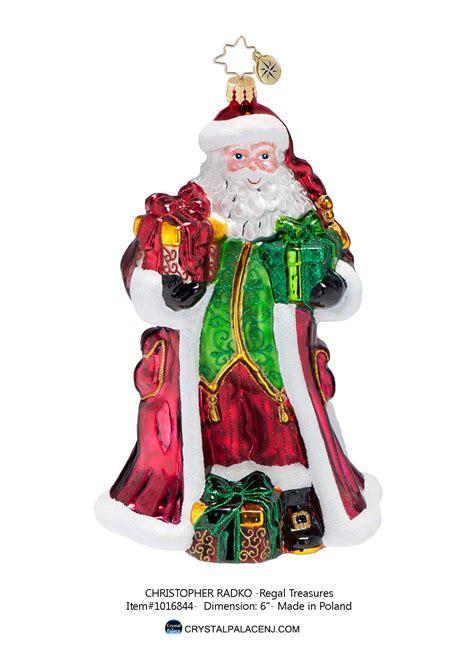 Radko Ornaments Sale - christopher radko regal treasures ornament