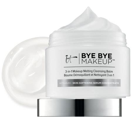 Detox Without Makeup by It Cosmetics Bye Bye Makeup 3 In 1 Makeup Melting
