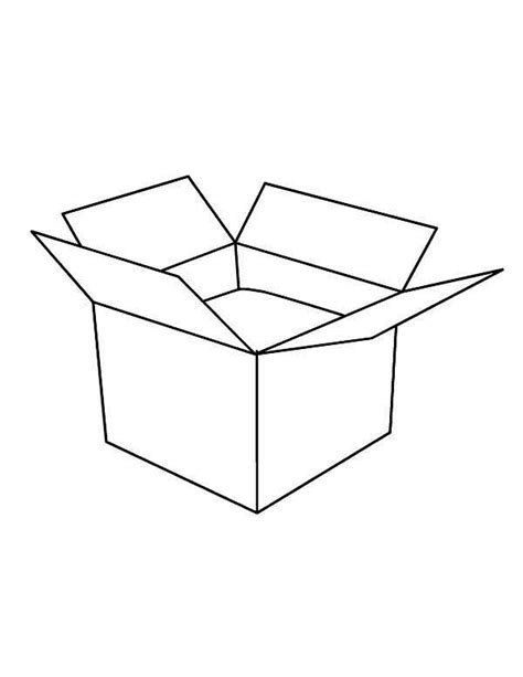 box clipart colouring box colouring transparent