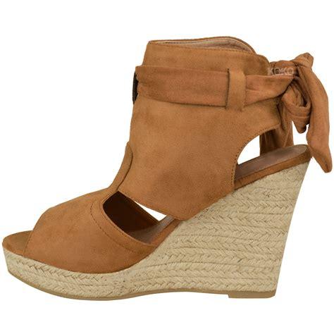 womens high heel wedges womens summer sandals high heels peep toe wedges