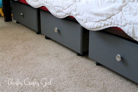 diy under bed drawers diy under bed storage decorating your small space