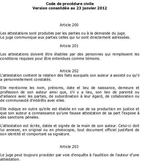 Exemple De Lettre Temoin D L Mod 232 Les Attestations Jaf Justitia Land Droit De La Famille