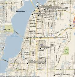 florida fort myers map fort myers florida attractions map find sights things to
