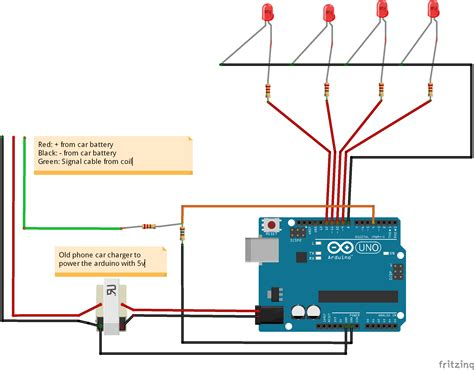 tachometer wiring diagram efcaviation