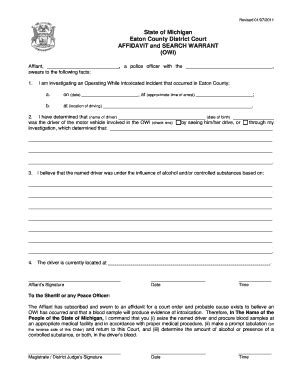Active Warrants Search Michigan Bench Warrant Search Warrant Formcom Fill Printable Fillable Blank