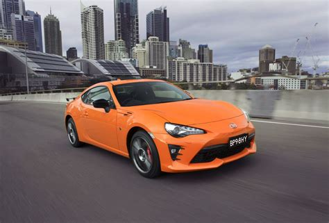 toyota company limited toyota 86 limited edition toyota sharpens up 86 with