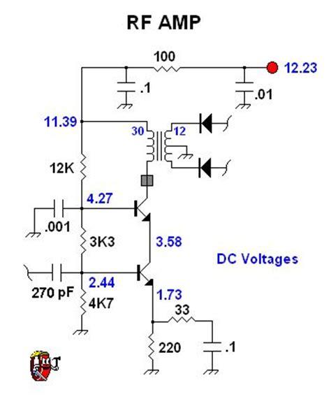 transistor rf lifier circuit cascode bjt rf lifier 3 lifier circuit circuit