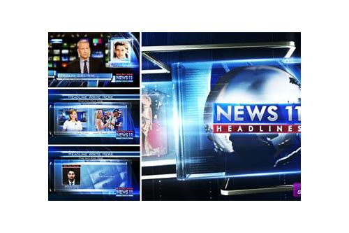 breaking news after effects template free download
