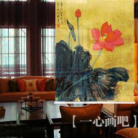hanging screen curtain hanging curtain dividers room screens printed paintings
