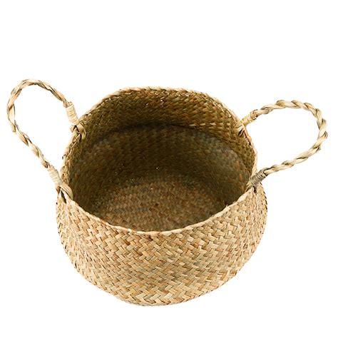 Handmade Woven Baskets - nordic handmade woven basket kiyolo