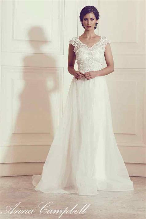 annas bridal anna cbell wedding dresses modwedding