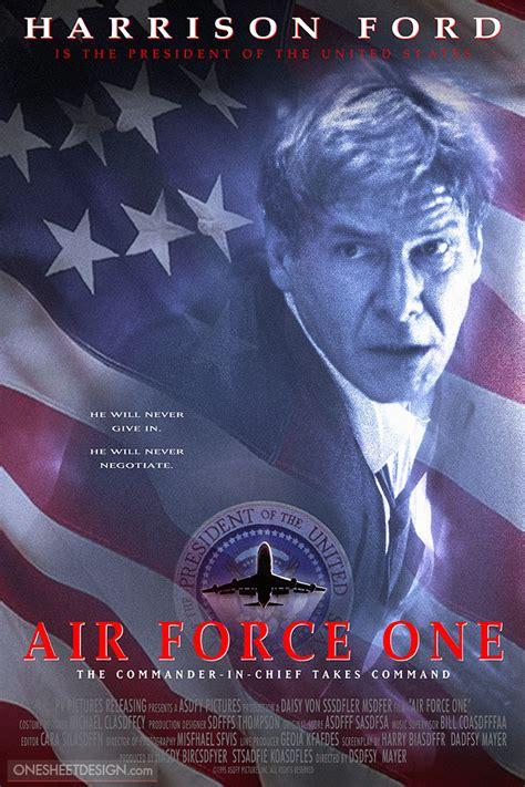 design is one movie air force one movie poster design portfolio
