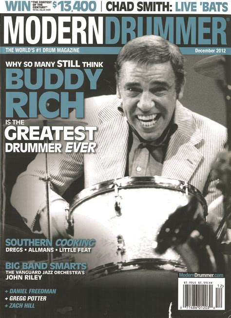 embellished jazz time modern drummer magazine buddy rich a timeline modern drummer magazine