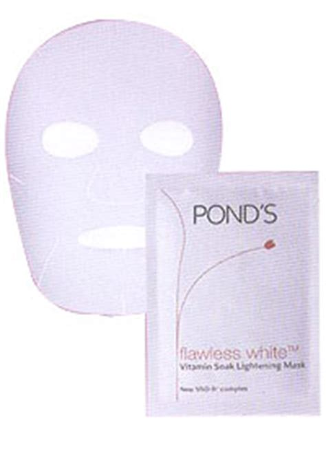 Masker Ponds story for now vitamin b3 skin lightening for white skin