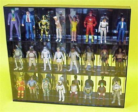 star wars action figure display cabinet star wars figures display case images