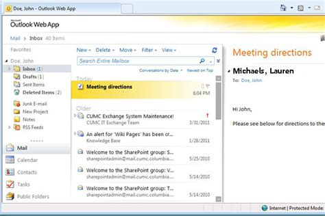 Office 365 Outlook Web App Url Outlook2010を使用しています メールの送受信等をメーラーでは 人力検索はてな