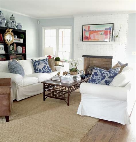 ikea ektorp sofas   living room emily  clark