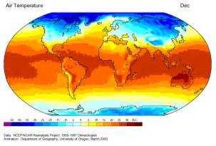 temperature map journey global climate and the seasons