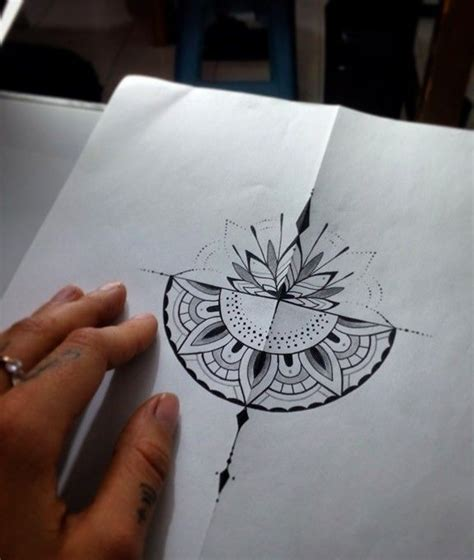 half mandala tattoo best 20 half mandala ideas on mandala