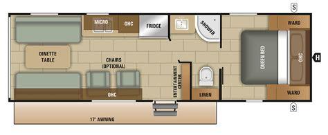 cer floor plans travel trailer travel trailer floor plan 2018 autumn ridge 260hr