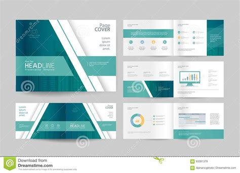 company profile cover design template download business brochure design template and page layout for