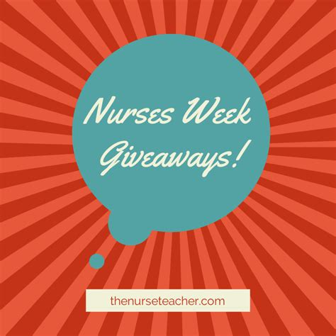 nurses week giveaways the nurse teacher - Nurses Week Giveaways