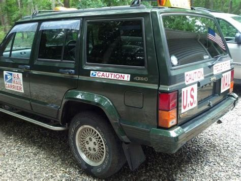 mail jeep cherokee buy used 1996 jeep cherokee limited sport utility rhd mail